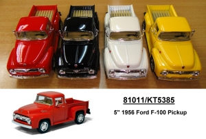 KINSMART, 1956 Ford F100 Pick Up, 12шт в дисплее №KT5385D